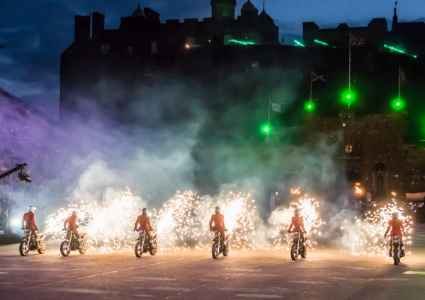 The IMPS Motorcycle Display Team